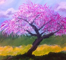 Blossom Tree by Terri Holland by Terri Holland