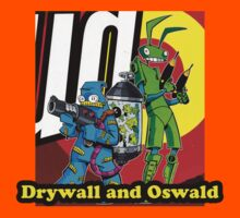 Drywall and Oswald by FreonFilms