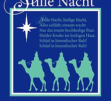 Stille Nacht Christmas - German Silent Night by SandraRose