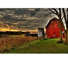 Calhoun County, Battle Creek, Michigan Photographic Print