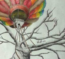 Hot air Balloon Tree Sticker