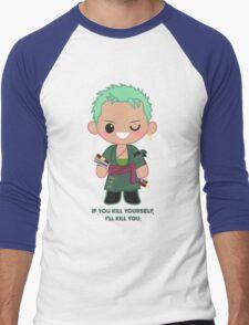 Cute  Roronoa Zoro Men's Baseball ¾ T-Shirt