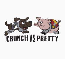 Crunch VS Pretty by JenSnow