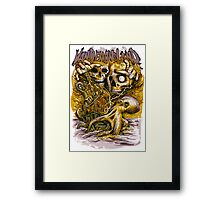 Tide and It's Takers Framed Print
