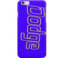 Blue Dodge iphone case iPhone Case/Skin
