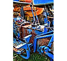 HDR abstract tractor Photographic Print