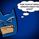 Bat in Thought, What Doctor? by joshjen10