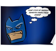 Bat in Thought, What Doctor? Poster