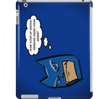 Bat in Thought, What Doctor? iPad Case/Skin