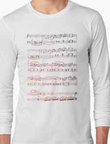 Music Score Long Sleeve T-Shirt