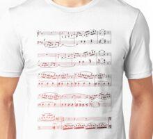 Music Score Unisex T-Shirt