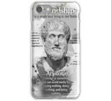 aristotle iPhone Case/Skin