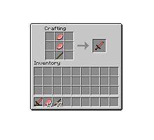 Minecraft Pork Sword by FlamingGiraffe