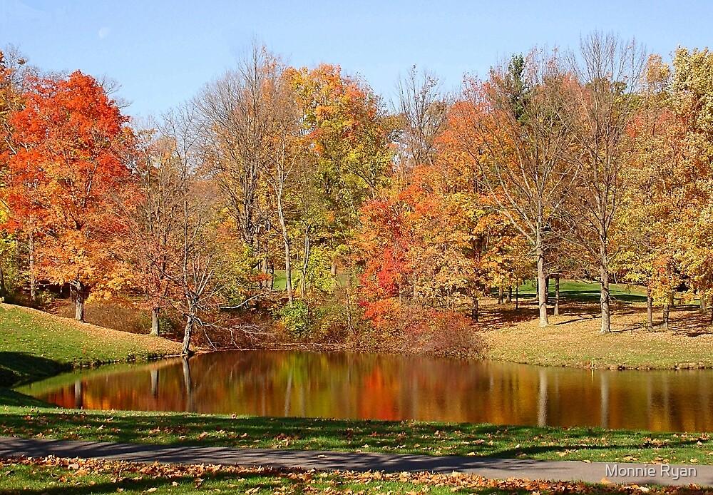 Punderson Pond by Monnie Ryan
