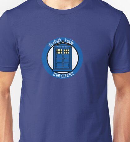 It's What's Inside that Counts Unisex T-Shirt