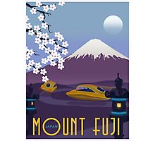 Race to Mount Fuji Photographic Print