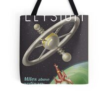 Escape to the Space Station Tote Bag