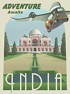 Adventure Awaits in India by stevethomasart