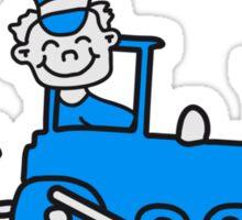 Train Conductor Sticker