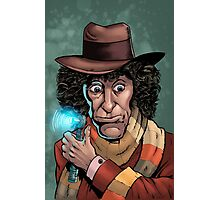 Dr Who Tom Baker Photographic Print