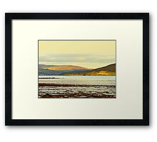 Looking From Rathmullan Across Lough Swilly Framed Print