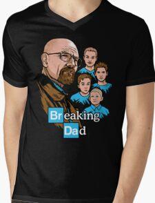 Breaking Dad Mens V-Neck T-Shirt