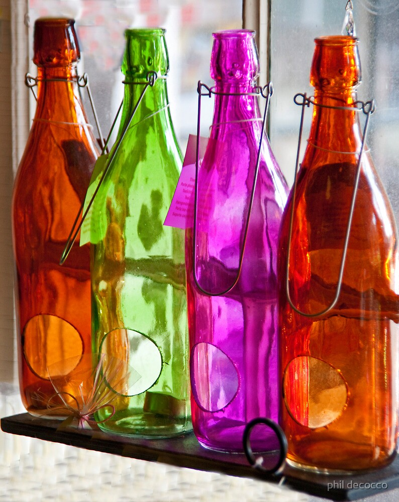 Bottles On The Sill by phil decocco