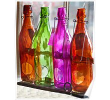Bottles On The Sill Poster