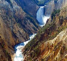 Grand Canyon at Yellowstone by Steve Upton