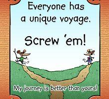 Unique Voyage by marlowinc