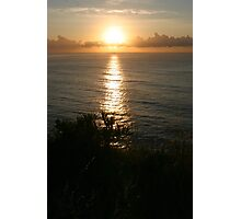 Here comes the sun - Nth Mona Vale Headland, Sydney Photographic Print