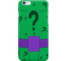 The Riddler iPhone Case/Skin