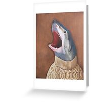 Shark in a Sweater Greeting Card