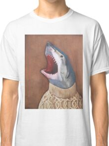 Shark in a Sweater Classic T-Shirt