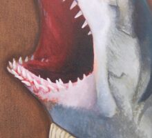 Shark in a Sweater Sticker