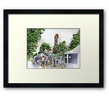Delta Farmers on a Saturday Framed Print