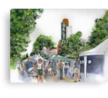 Delta Farmers on a Saturday Canvas Print
