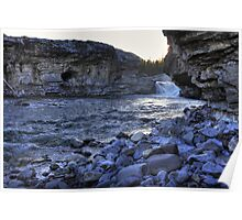 Elbow falls view Poster