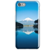 Mount Fuji Reflection iPhone Case/Skin