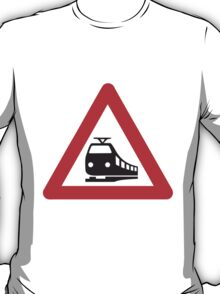 Caution Train T-Shirt