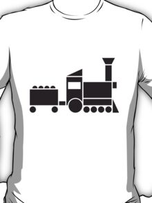 Abstract Train T-Shirt