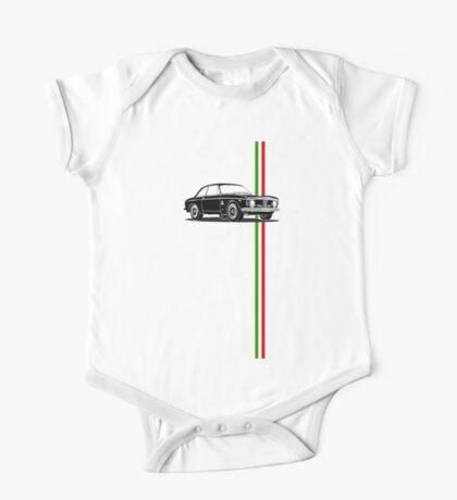 Alfa Romeo Giulia Sprint GTA with Italian flag stripe One Piece - Short Sleeve