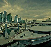Vancouver harbor  by Eti Reid