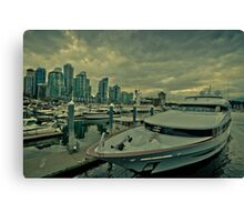 Vancouver harbor  Canvas Print