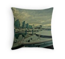 Vancouver harbor  Throw Pillow