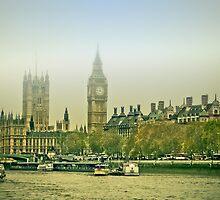 Foggy Westminster by Eti Reid