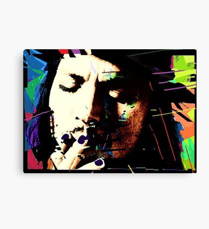 Johnny Depp. Canvas Print