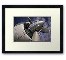 Propeller Engine Framed Print