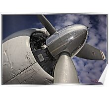 Propeller Engine Poster