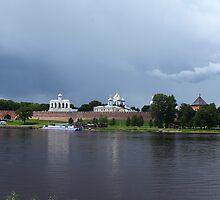 Kremlin in Veliky Novgorod by mrivserg
